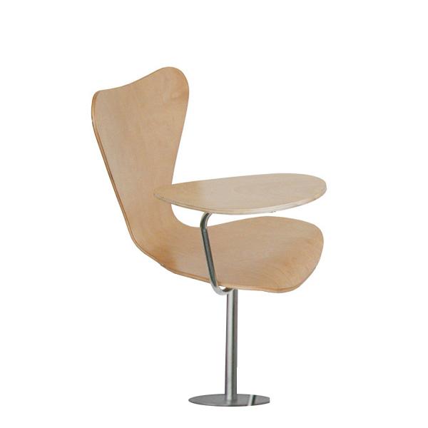 Cadeira de auditório com palmatória Series 7