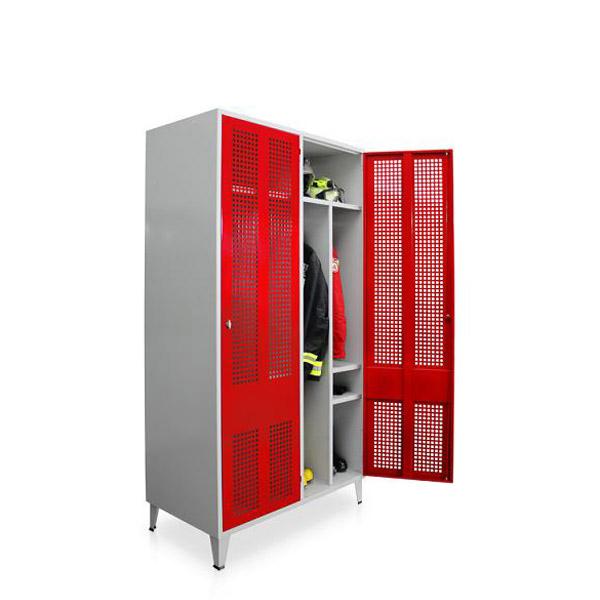 Armário vestiário para bombeiros