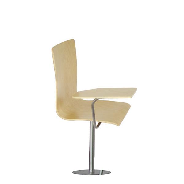 Cadeira  de auditório com palmatória RETA