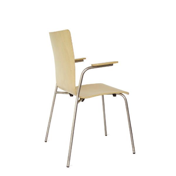 Cadeira RETA com braços