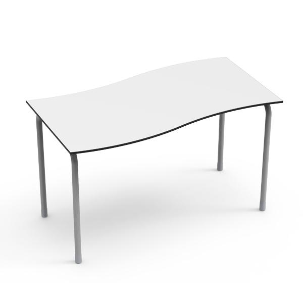Desk 21 U - Rectangular en Onda