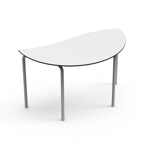 Desk 21 U - Vague semi-circulaire