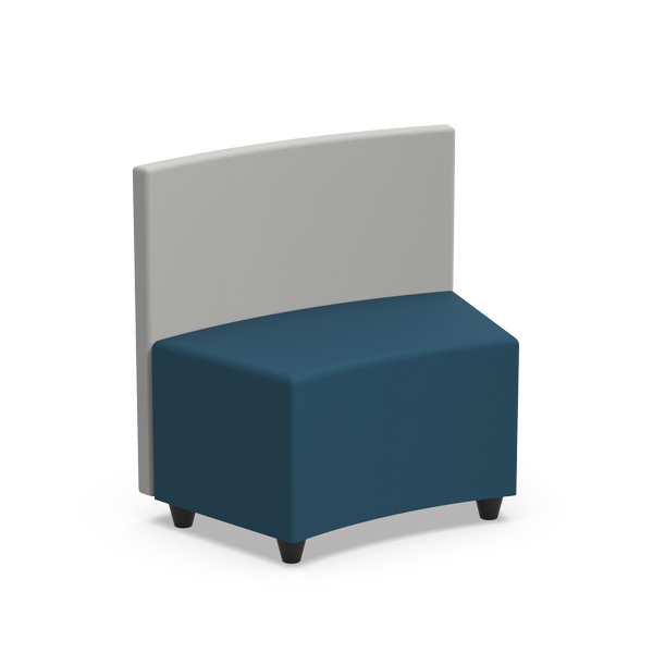 INTERIOR CURVED PUFF With Panel - BLCPI