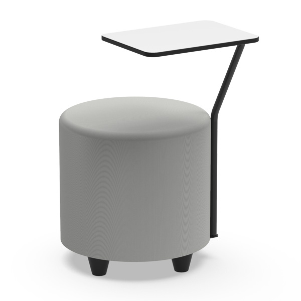 PUFF BLOCK Round with table- BLRDM