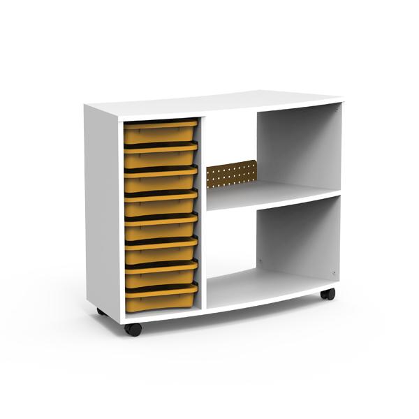 BOX Extérieur Incurvé Avec Plateaux - BCET