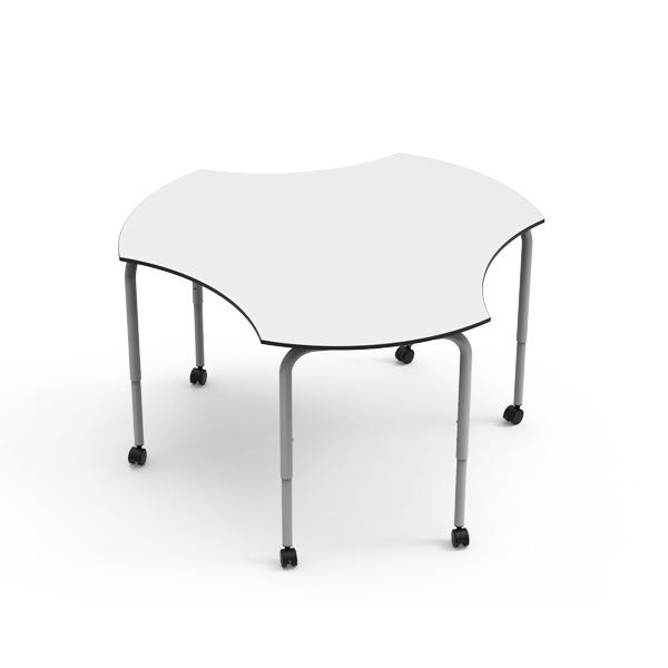 Desk 21 U - Circular c/ recortes