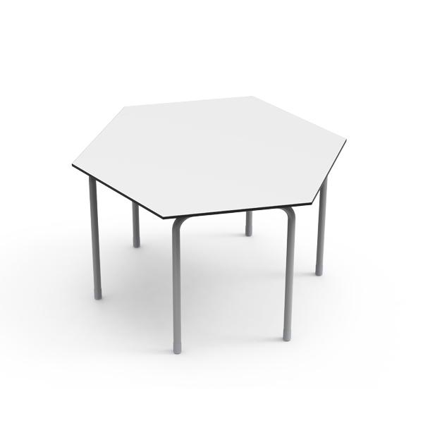 Desk 21 U - Hexagonal